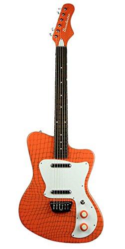 Danelectro Heaven Alligator guitarra eléctrica Naranja