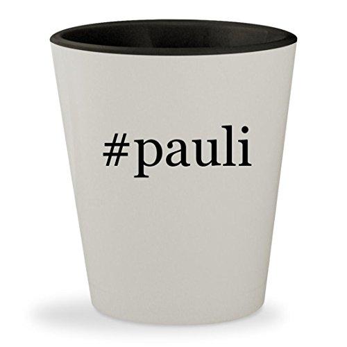#pauli - Hashtag White Outer & Black Inner Ceramic 1.5oz Shot Glass
