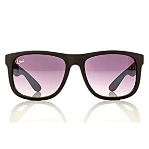 The Starter - Purple Gradient Sunglasses - Men and Women - Fashionable Designer Look with Colored Sunglass Lenses - Rubber Frames - Unisex Travel Eyeglasses with UV400 Protection