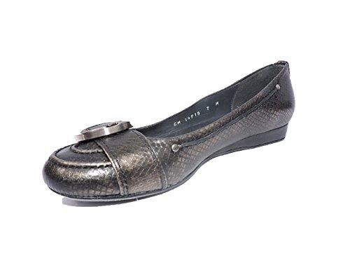 Stuart Weitzman Cricky Womens 1 Appartements Compensés Sable Antique Viper Chaussures En Cuir Taille 5,5 M