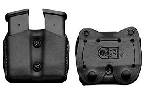 DeSantis Double Belt Magazine Pouch for Sig Sauer P365, Ambidextrous, Black, A01BJKKZ0 ()