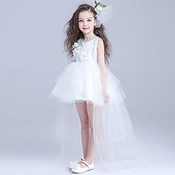 RENQINGLIN Prinzessin Kleid Girls Flower Girl Dress Kinder Kurze ...