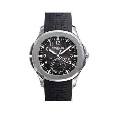 Patek Philippe Aquanaut Dual Time Men's Watch - 5164A-001