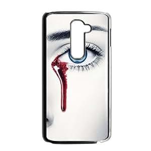Bleeding eye fashion phone case for LG G2