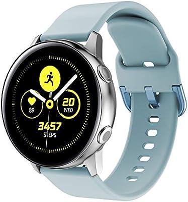 Yayuu para Samsung Galaxy Watch Active Correa, Silicona Reemplazo ...
