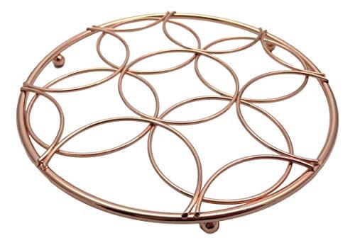 Copper Trivet - Copper plated round trivet