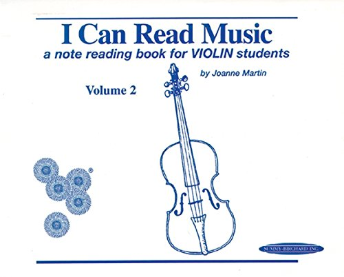 Reading Book Note (I Can Read Music, Vol 2 a Note Reading Book for Violin Students by Joanne Martin (1-May-1997) Spiral-bound)
