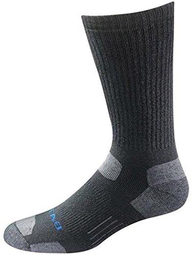 Bates Men's Tactical Mid Calf Socks,Black,M - Regular (World Bate)