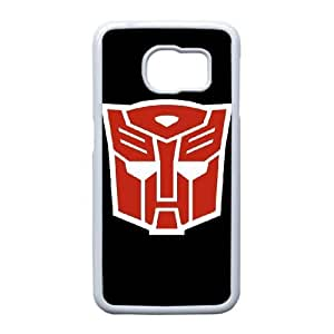 Autobots transformers_003 TPU Case Cover for Samsung Galaxy S6 Edge Cell Phone Case White