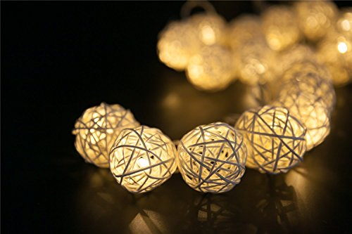 Bamboo Patio Lights String in Florida - 9