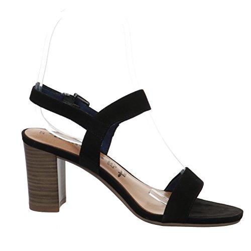 Tamaris 1-1-28321-28/001 - Sandalias de vestir para mujer negro