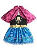 Disney Frozen Princess Anna Toddler Girls Costume Cosplay Dress Hooded Cape 2T