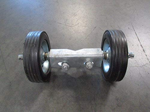 6'' ROLLING GATE CARRIER WHEELS: for chain link fence rolling gates - rut runner by FenceSmart4U (Image #5)