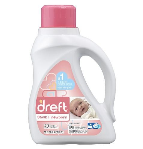 Dreft Stage 1 Specially formulated for newborn babies HE Det