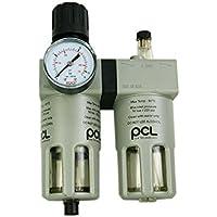 1 pieza Reductor de presión + Impresión de aire Filtro + lubricador 1/2.