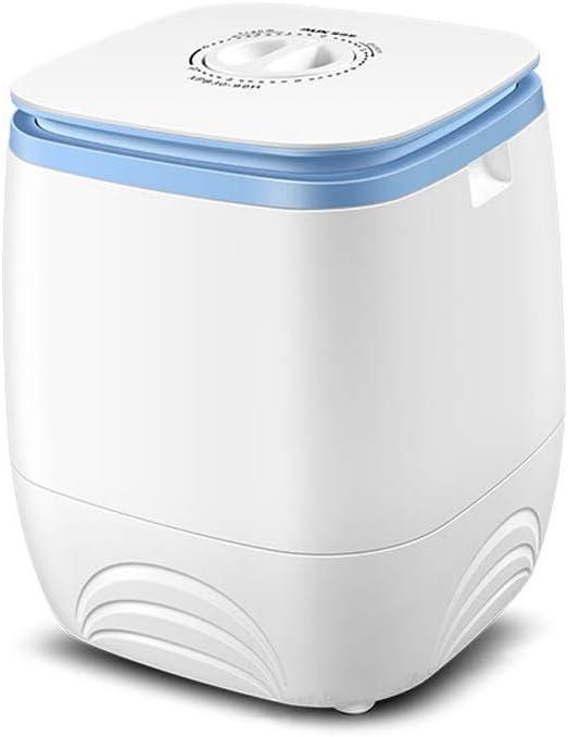 RMXMY Mini Lavadora, silencioso Funcionamiento de la Lavadora del hogar Individual Barril niños Lavado portátil deshidratación Integración Diseño Compacto y Duradero (Color : B)