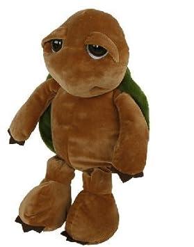 XL de peluche tortuga Hermann 48 cm ojos saltones de peluche de tortuga de peluche con