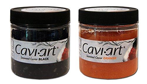 Cavi-Art - Vegan Seaweed Caviar - 2-Flavor Combo Pack ()