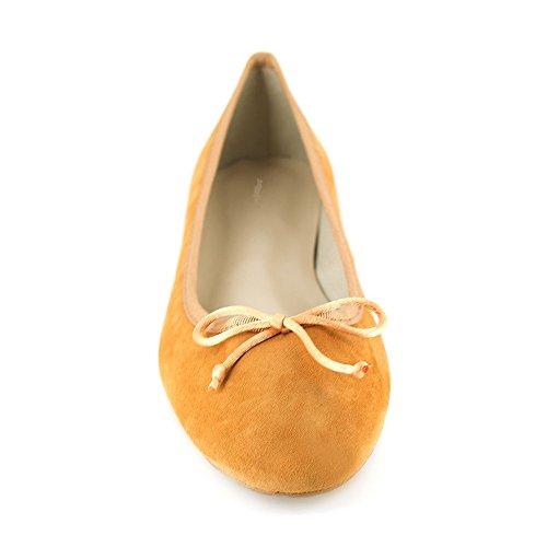 Ballerina J pelle bradford Jb in arancione miriam 0Uwvqz