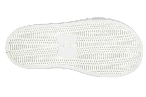 Hogan Rebel scarpe sneakers bambino alte camoscio nuove rebel blu