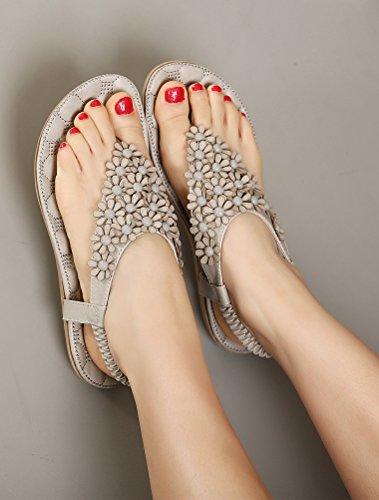 Sandales MatchLife Style8 gris Flops Flip Femmes 7wvpWqx5F