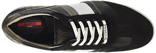 Schwarz Aaron Midnight Bianco LLOYD Schwarz Sneaker Graphit Herren Schwarz RqwxI5TIHC
