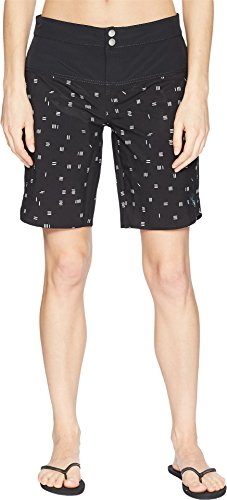 CARVE Designs Women's Shaka Shorts Dash/Black 10 by CARVE