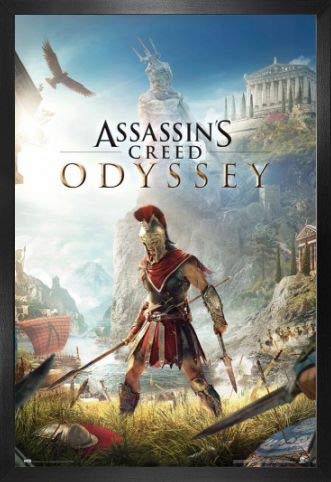 1art1 AssassinS Creed Póster con Marco (Madera DM ...