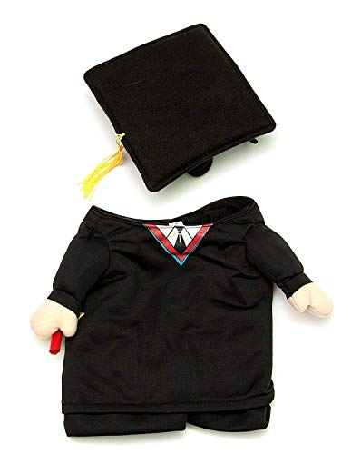 Midlee Fake Arms Graduation Dog Costume (Small Dog X-Small)]()