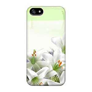 Top Quality Protection Lilies So Pure Case Cover For Iphone 5/5s