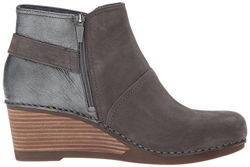 Dansko Shirley Grey Boot Nubuck Women's vwxr0Sqv