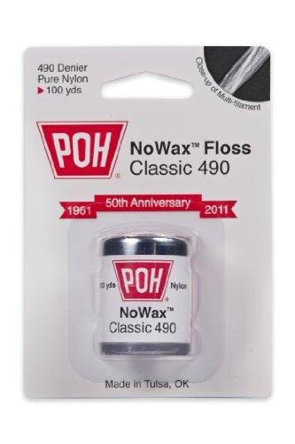 POH soie dentaire non cirée 100 mètres - 12 Rolls Per Box