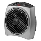 Bionaire BFH2242MSM Oscillating Heat Circulator, 1500 W - Gray Bionaire Ceramic Heaters
