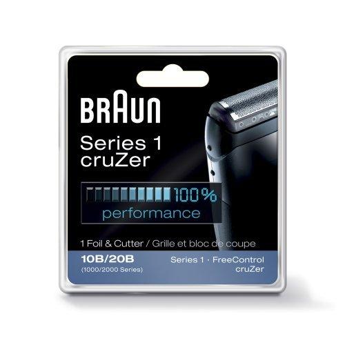 Price comparison product image Braun CruZer Replacement Foil & Cutter (Fits CruZer 1, 2, 3, 4, 1000, 2000 Series)