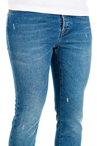 Qv3dek2jisu598 Cotone Valentino Jeans Blu Uomo q8OWYwv