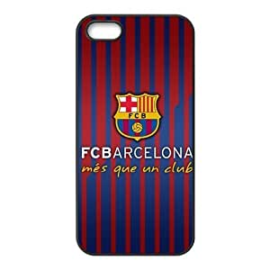 diy zhengFC Barcelona Logo Jersey Color iphone 5c Hard Cover Case Best Choice Birthday Gift