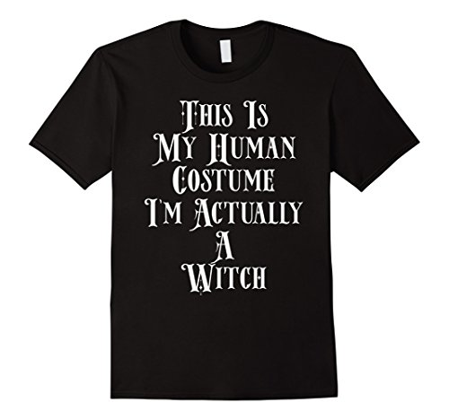 Old Couple Costume Ideas (Mens I'm Actually A Witch Costume Old Scary Witches Drink Up Shir 3XL Black)