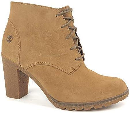 Crítica canal literalmente  Amazon.com: Timberland Tillston - Botas de chukka para mujer, tacón alto,  Beige, 9 M US: Shoes