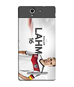 ColorKing Football Lahm Germany 01 Multi Color shell case cover for Sony Xperia C3