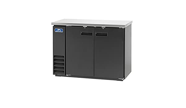 Arctic Air ABB72G Glass 73-Inch 3-Door Back Bar Refrigerator 115v