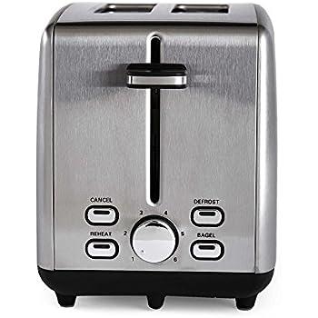 Amazon Com Professional Series Stainless Steel 2 Slice