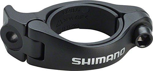 Shimano Dura Ace Front Derailleur (SHIMANO Dura-Ace FD-R9150 Front Derailleur Adapter Black, 31.8mm/28.6mm)
