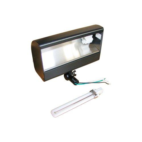 Adamax TPDW113BKPLT 13-watt 120-volt CFL Flood Landscape Light, 1-Piece