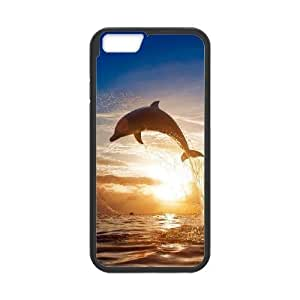 """AinsleyRomo Phone Case Dolphin and Sea pattern case For Apple Iphone 6,4.7"""" screen Cases FSQF487887"""