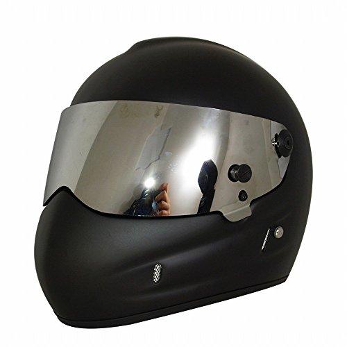 KI Casco de Moto Casco Star Wars Frp Casco Completo de Personalidad Casco,Negro,SG