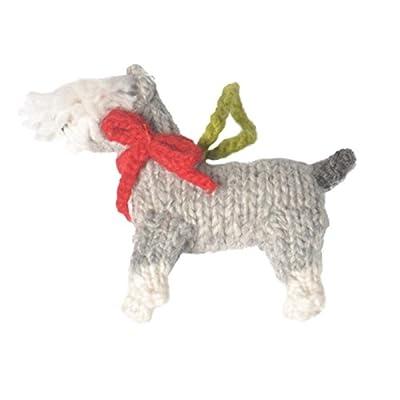 Chilly Dog Schnauzer Dog Ornament