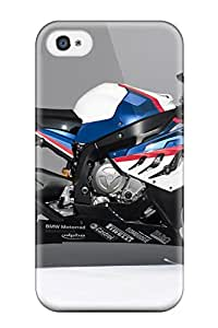 Durable Case For The Iphone 4/4s- Eco-friendly Retail Packaging(bmw S 1000 Rr Sbk 8211 Motorcycles Photo)