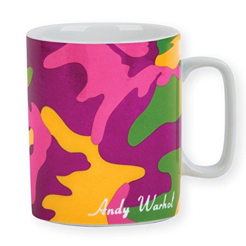 Andy Warhol Magenta Camouflage Mug