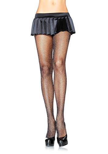 Leg Avenue Womens Glitter Fishnet Tights ()