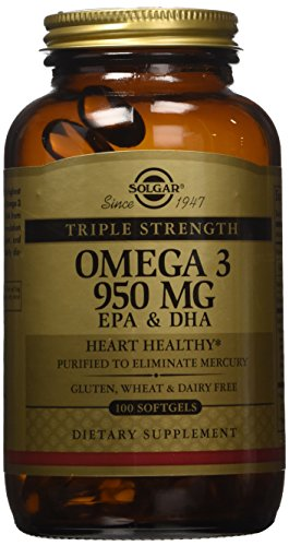 Solgar Triple Strength Omega Softgels product image